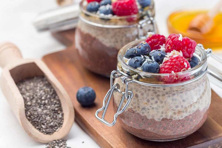 Fit Revolution recipes chia seed pudding
