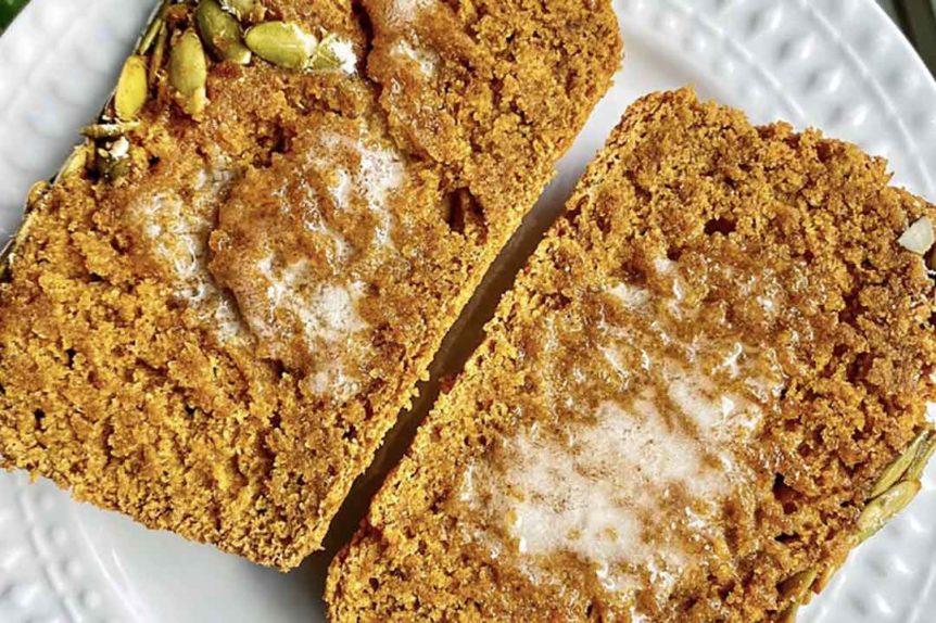 Fit Revolution recipes Sourdough Pumpkin Bread